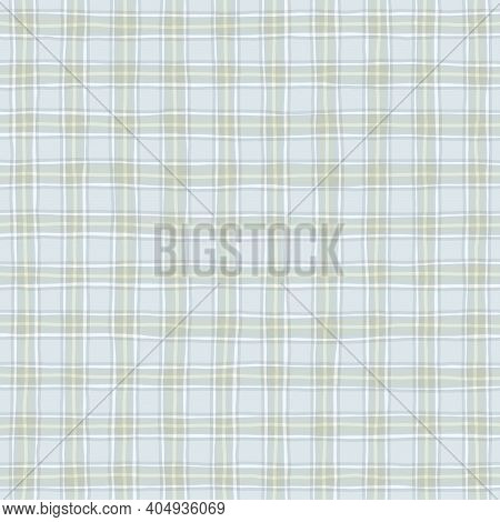 Light Blue White Gray Beige Faded Vintage Checkered Background. Space For Graphic Design. Checkered