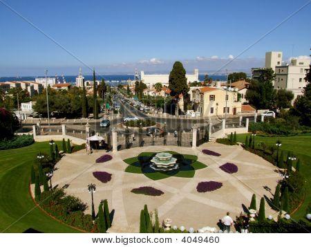 Looking Down On Haifa
