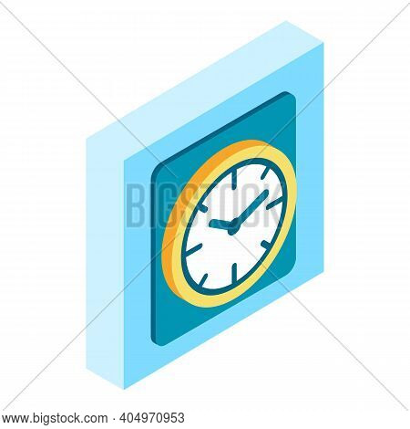 Timepiece Icon. Isometric Illustration Of Timepiece Vector Icon For Web