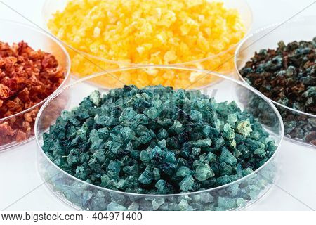 Molten Chloride Salts, Crystals And Crystallized Rare Earth Sediments, Chemicals Used In Industry Fo