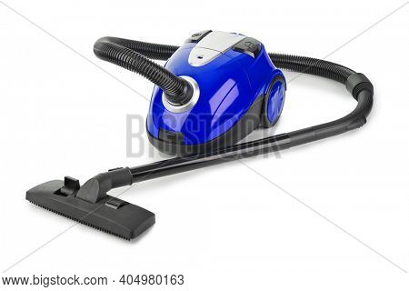 Vacuum cleaner isolated on white background