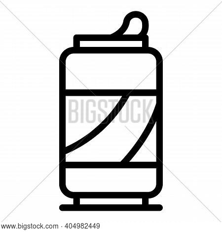 Soda Drink Waste Icon. Outline Soda Drink Waste Vector Icon For Web Design Isolated On White Backgro