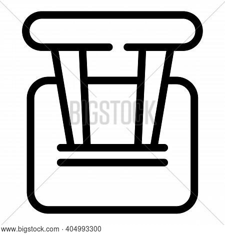Switch Off Toggle Icon. Outline Switch Off Toggle Vector Icon For Web Design Isolated On White Backg