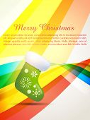 vector merry christmas design background poster