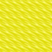 abstract glossy bright yellow pattern with imprinted waves poster