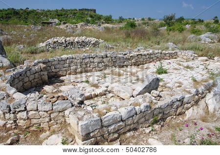 ruins of Sas Stari Grad, Montenegro poster