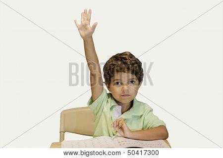 Child - Raising Hand