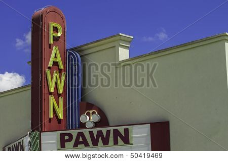 Pawn Shop Entrance