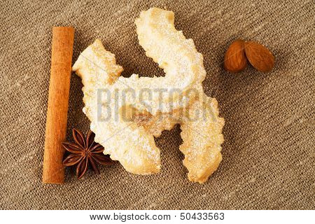 Butter Cookies With Anise And Cinnamon