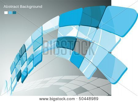 Vector awesome abstract blue backgrounds. Vector illustration.