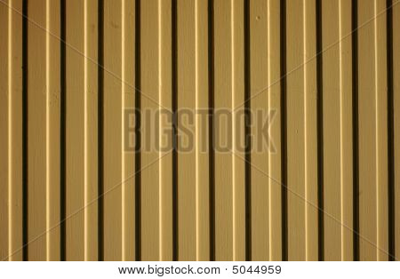 Clapboard Painted Fence Panel