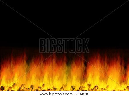 Fired Background