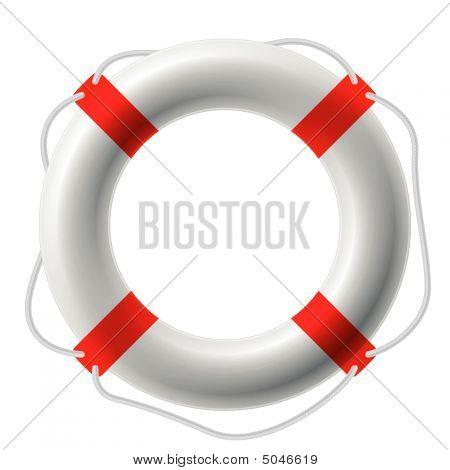 Life Buoy. Vector.