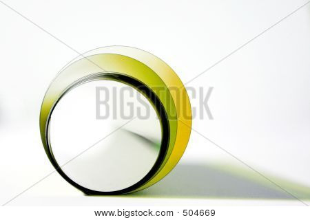 Abstract Circle In Yellow