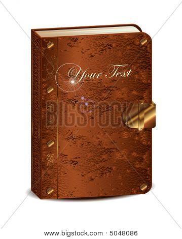 Antique Magic Vector Book
