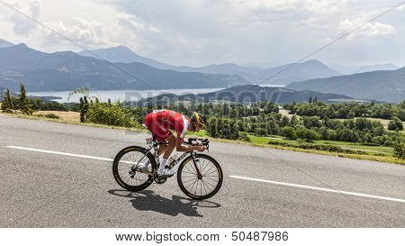 The Cyclist Guillaume Levarlet