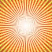 vector abstract background of orange star burst rays poster