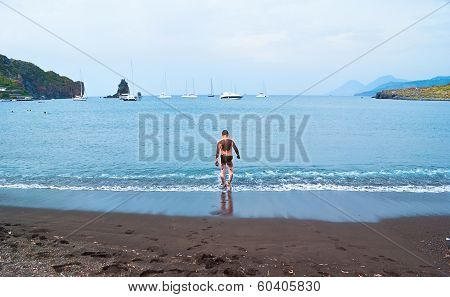 The Volcanic Beach