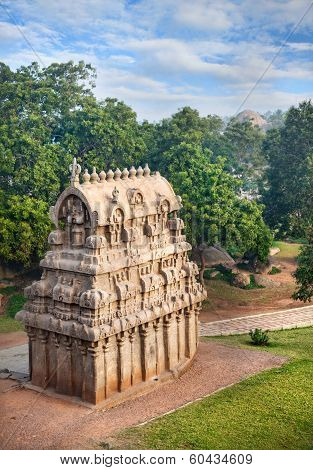 Temple In Mamallapuram