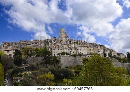 The Walled City Of Saint Paul De Vence