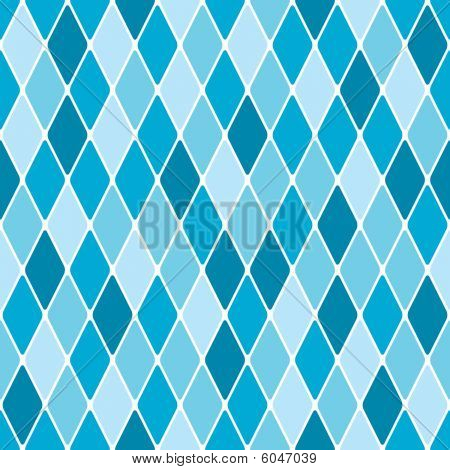 Harlequin winter seamless pattern