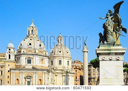 St. Mary's Church In Rome