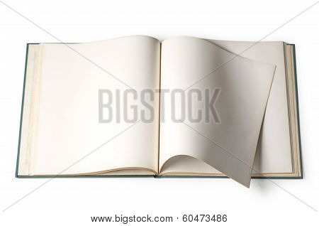 Book With Blank