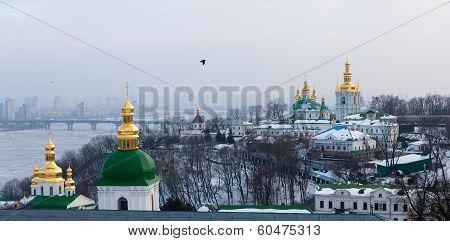 Kievo-pecherskaya Lavra In Kiev. Ukraine.