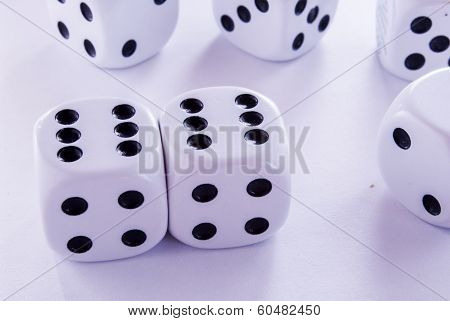 groped their luck rolling the dice game poster