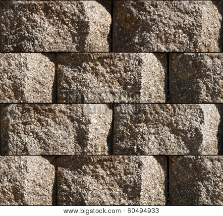 Seamless Cinderblock Background Tile