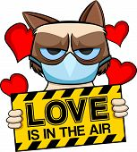Cat who has allergy on love. Good for all people who don't like love. poster