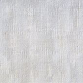 Natural Bright White Flax Fiber Linen Texture Detailed Macro Closeup rustic crumpled vintage textured fabric burlap canvas pattern beige copy space poster