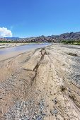 Las Flechas Gorge along famous Route 40 in its section through the northern province of Salta Argentina. poster