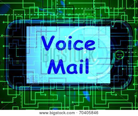 Voice Mail On Phone Shows Talk To Leave Messages