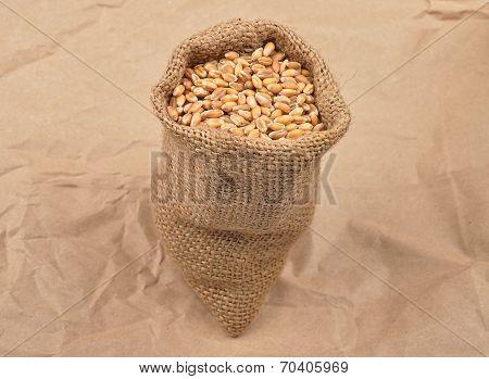 Cereal Bag On Kraft Paper