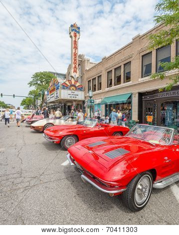 Corvettes, Birmingham Theatre (Palladium), Woodward Dream Cruise