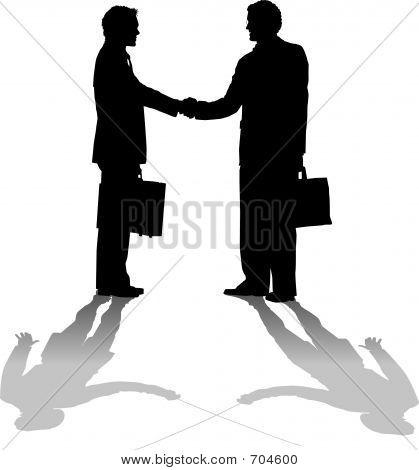 Hand Shake Duel