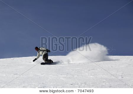 Coming Down The Mountain In A Dynamic Drift