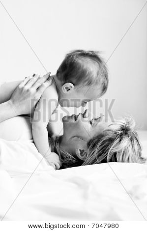 Boy And Mother 6