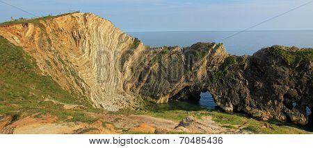 Sedimentary Rocks Lulworth Cove, Dorset