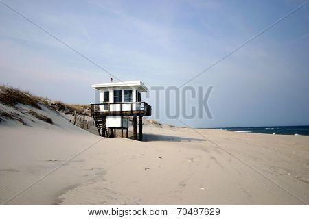 Lifeguard Shed - Jersey Shore