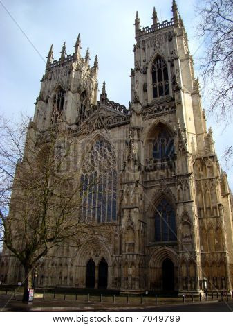 York Minster in Winter