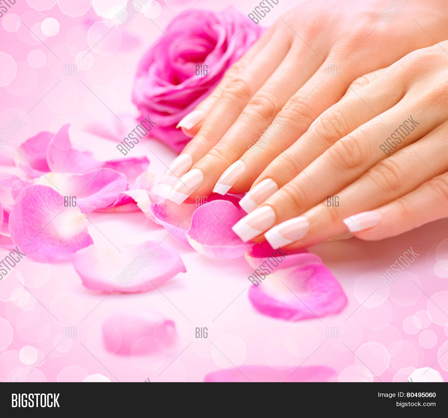Free Manicure Beauty Hands Makeover: Manicure, Hands Spa Image & Photo (Free Trial)