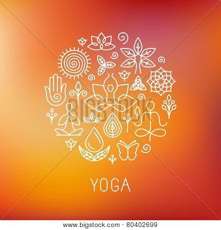 Vector Yoga Logo