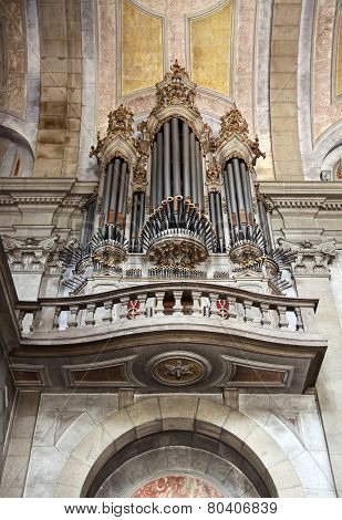 Mauritanian Organ In The Church
