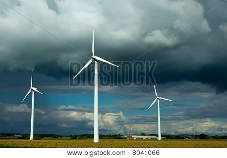 Clouded Wind Power