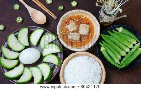 Vietnamese Food, Vegetarian, Diet Menu