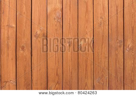 Natural Wooden Slats Brown Panel