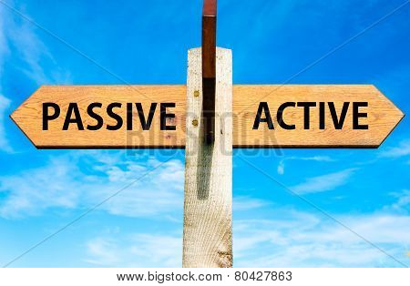 Passive versus Active messages
