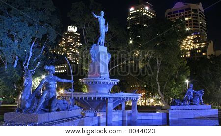 The Archibald Memorial Fountain, Hyde Park, Sydney
